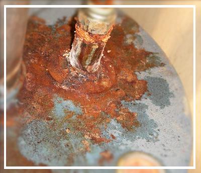 Hot Water Heater Rusting