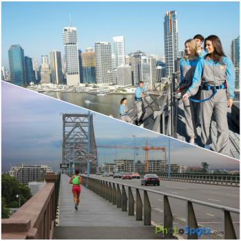 Climbing The Story Bridge