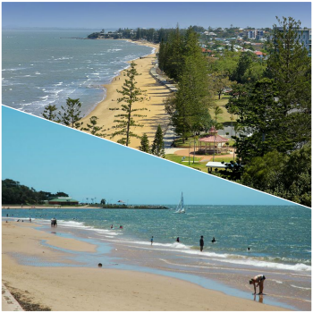 Suttons Beach in Redcliffe