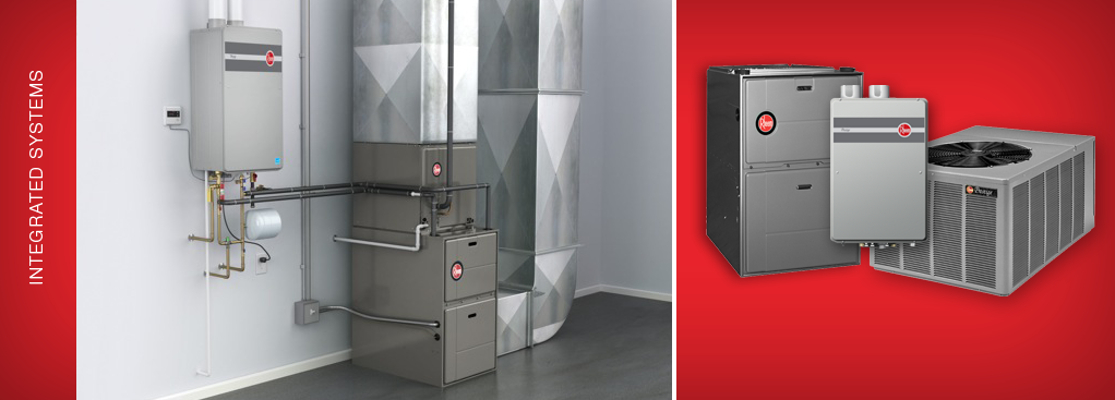 Rheem Water Heater System